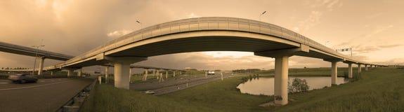 Fly-over en los Países Bajos Imagen de archivo libre de regalías