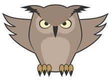 Fly owl Royalty Free Stock Photo