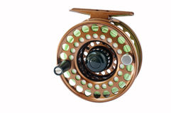 Fly Reel. Reel for 5 weight rod Royalty Free Stock Photo