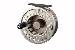Fly Reel. Reel for 8 weight rod Royalty Free Stock Photo