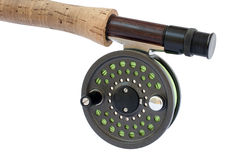 Fly Rod and Reel. Rod and reel for 4 weight fishing rod Stock Photography