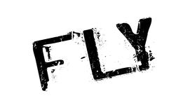 Fly rubber stamp Stock Image