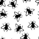 Fly seamless pattern Royalty Free Stock Photography