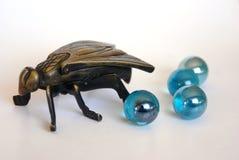 Fly shape ashtray Royalty Free Stock Image