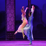 Fly side by side-The second act of dance drama-Shawan events of the past Royalty Free Stock Photography