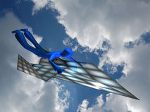 Fly in the sky Royalty Free Stock Image
