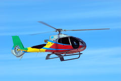 Fly small helicopter Stock Photos