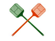 Fly Swatters stock photo