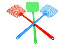 Fly Swatters Royalty Free Stock Image