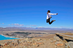 Fly in Tekapo Royalty Free Stock Image