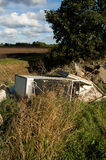 Fly tipping in the countryside Royalty Free Stock Photography