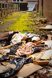 Fly tipping of refuse Stock Image
