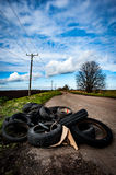 Fly tipping Royalty Free Stock Photos