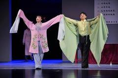Fly together-Jiangxi OperaBlue coat Royalty Free Stock Image