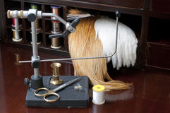 Fly Tying Stock Images