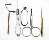 Fly Tying Tools Stock Photo