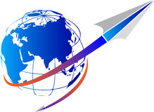 Fly world Stock Images