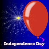 Independence Day Firework Display Royalty Free Stock Photos