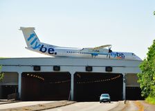 Flybe Dash 8 Royalty Free Stock Photos