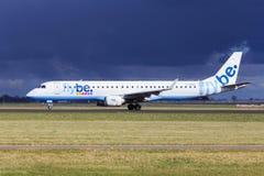 Flybe Embraer E-190 Stock Photos