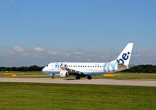 Flybe Embraer ERJ-175STD, Manchester Photographie stock libre de droits