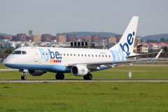 Flybe Embraer ERJ175 Royalty Free Stock Images