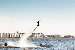 Flyboard Imagens de Stock Royalty Free