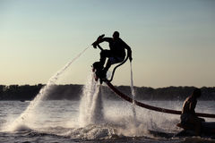 Flyboard Foto de Stock Royalty Free