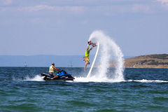 Flyboard-Abenteuer Lizenzfreie Stockfotografie