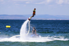 Flyboard adventure Stock Photos