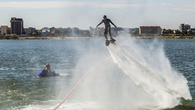 Flyboard Aerobatics Stock Image