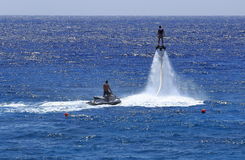 Flyboard Royalty Free Stock Images