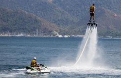 Flyboard Royalty Free Stock Photos
