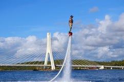 Flyboarding 库存图片