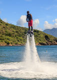 Flyboarding Royalty Free Stock Photo