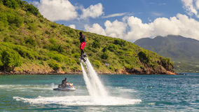 Flyboarding Royalty Free Stock Photos