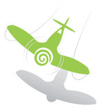 Flyby di Dreamstime illustrazione di stock