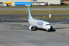 Flydubai Stockfotos