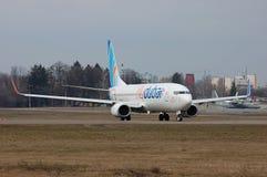 Flydubai Boeing 737 (7000o Boeing 737) Foto de archivo libre de regalías