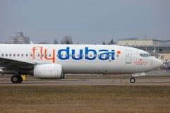 Flydubai Boeing 737 (7000th Boeing 737) Image stock