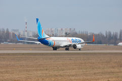 Flydubai Boeing 737 (7000th Boeing 737) Photographie stock