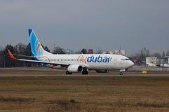 Flydubai Boeing 737 (7000th Boeing 737) Imagem de Stock