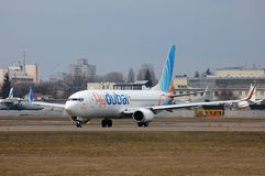 Flydubai Boeing 737 (7000th Boeing 737) Foto de Stock