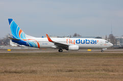 Flydubai Boeing 737 (7000th Boeing 737) Stock Photo