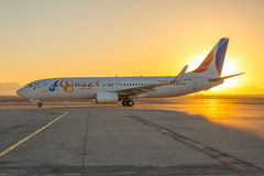 FlyEgypt Boeing 737 Image libre de droits