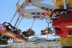Flyer amusement ride Royalty Free Stock Photography