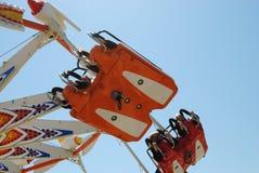 Flyer amusement ride Stock Images