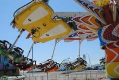 Flyer amusement ride Royalty Free Stock Photo