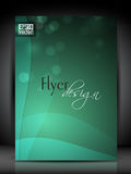 Flyer, brochure or cover design. Royalty Free Stock Photography