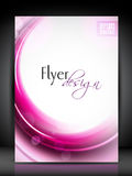 Flyer, brochure or cover design. Royalty Free Stock Photo